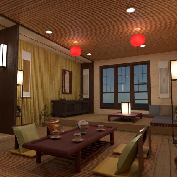 floorplans meubles décoration salon eclairage salle à manger 3d