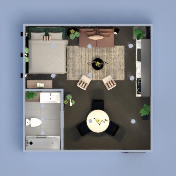 планировки декор кухня освещение столовая студия 3d