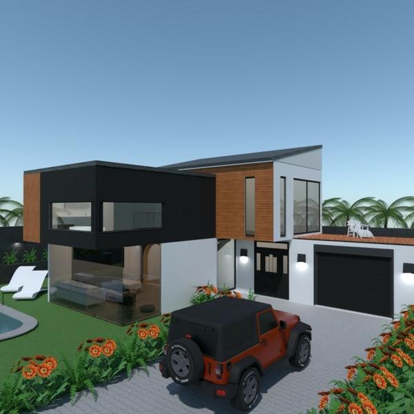 floorplans apartamento quarto área externa arquitetura patamar 3d