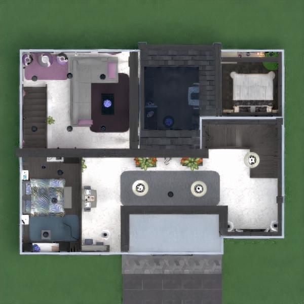 floorplans butas namas terasa baldai dekoras pasidaryk pats vonia miegamasis svetainė garažas virtuvė eksterjeras apšvietimas valgomasis аrchitektūra sandėliukas prieškambaris 3d