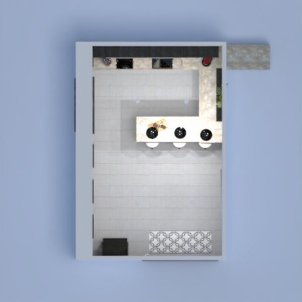 планировки кухня освещение 3d
