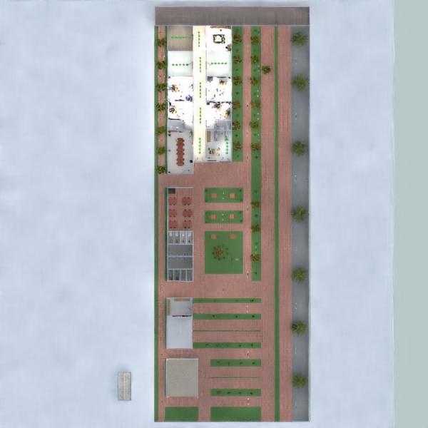 floorplans eksterjeras biuras apšvietimas studija prieškambaris 3d