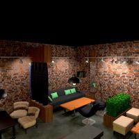 планировки офис кафе 3d