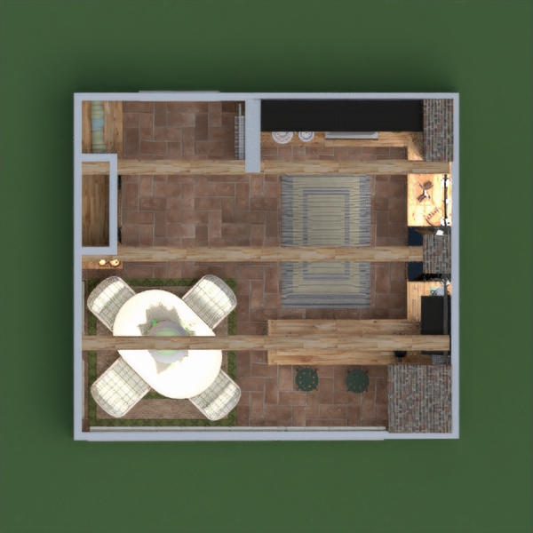 floorplans house furniture living room kitchen lighting renovation dining room 3d
