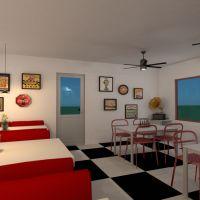floorplans baldai dekoras virtuvė eksterjeras apšvietimas kraštovaizdis kavinė valgomasis prieškambaris 3d