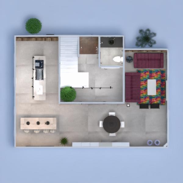 floorplans wohnung mobiliar dekor do-it-yourself badezimmer küche beleuchtung haushalt café esszimmer architektur eingang 3d