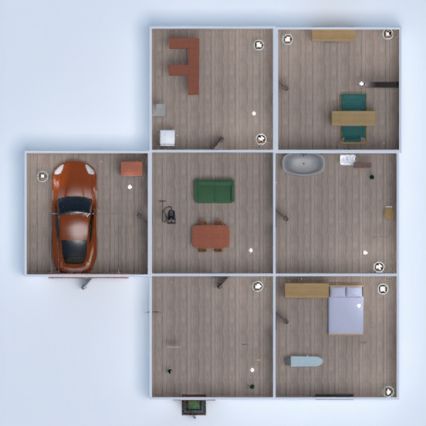 progetti casa bagno garage cucina cameretta 3d