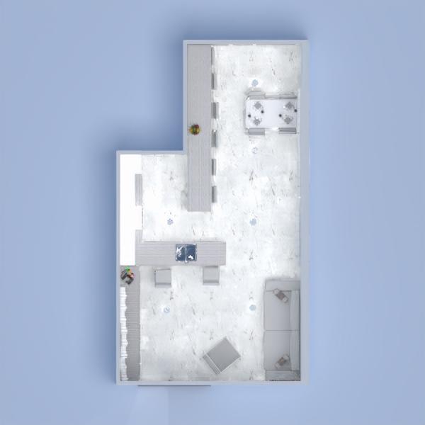 floorplans furniture living room kitchen dining room 3d
