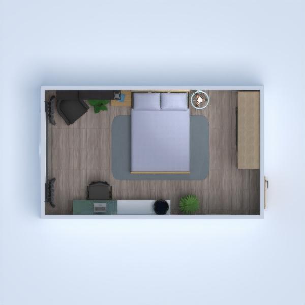 progetti arredamento decorazioni camera da letto cameretta 3d