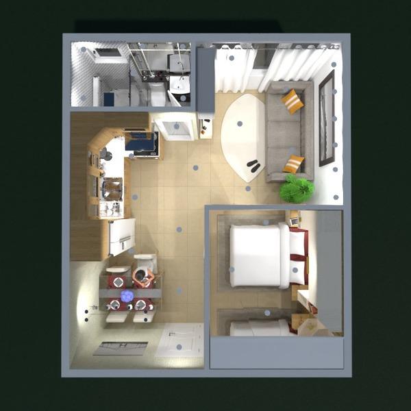 planos apartamento decoración bricolaje 3d