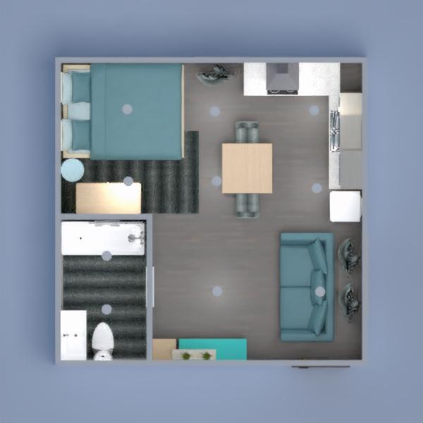 планировки квартира мебель декор студия 3d
