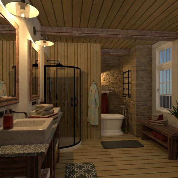 планировки дом мебель ванная освещение 3d