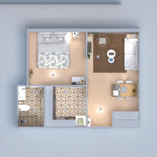планировки квартира сделай сам гостиная столовая 3d