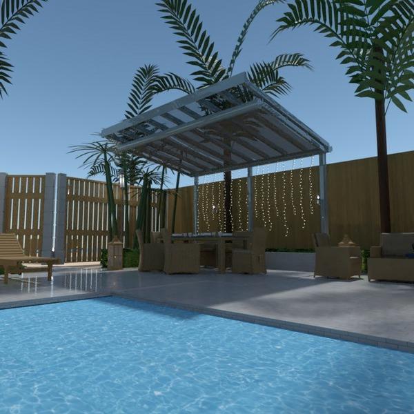 floorplans casa mobílias decoração área externa paisagismo 3d