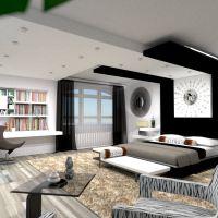floorplans mobílias quarto iluminação arquitetura 3d