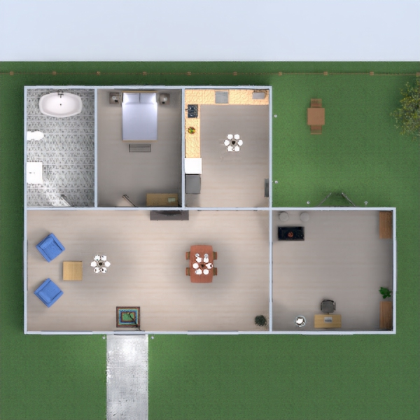 floorplans house bedroom kitchen dining room architecture 3d