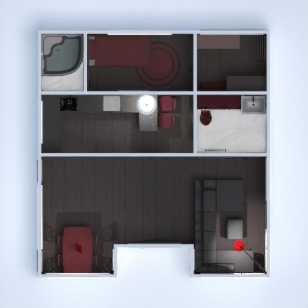 floorplans house bedroom living room kitchen dining room 3d