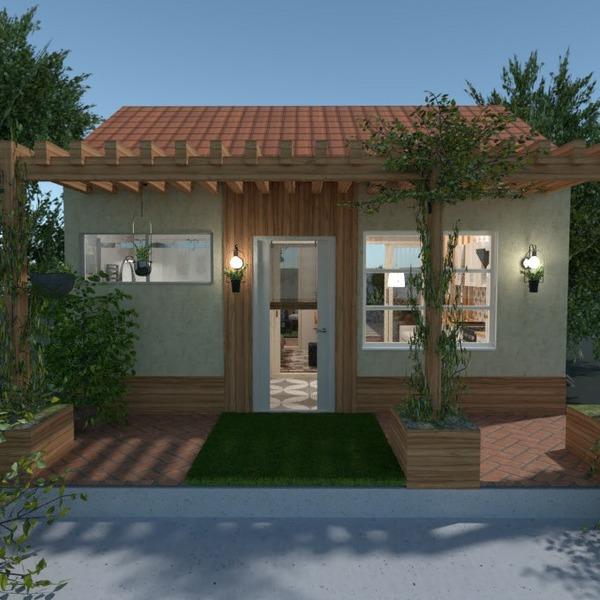 floorplans casa banheiro quarto quarto área externa 3d