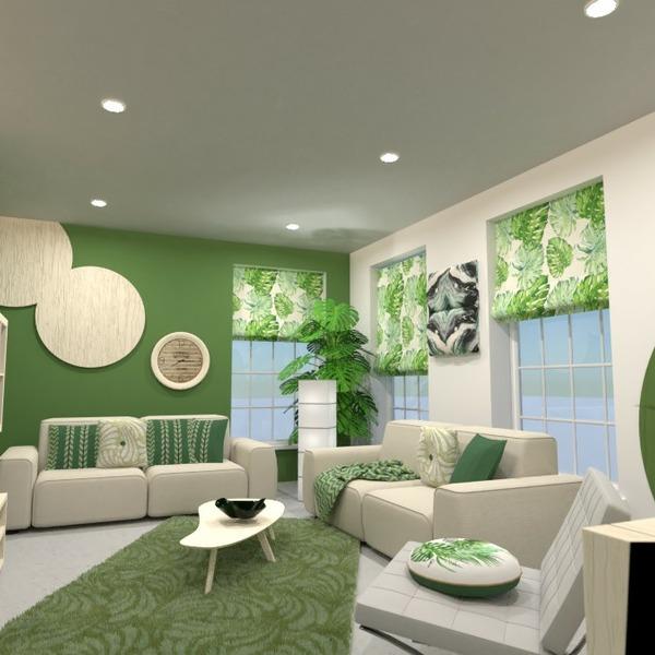 планировки мебель декор гостиная освещение 3d