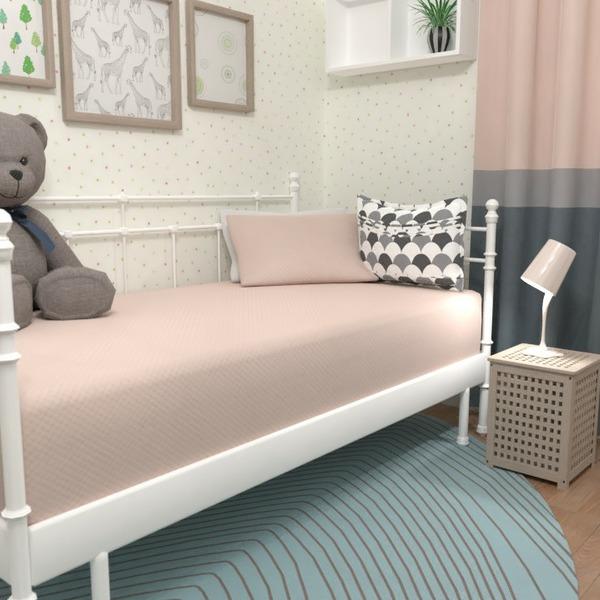 floorplans mobílias decoração quarto quarto infantil 3d