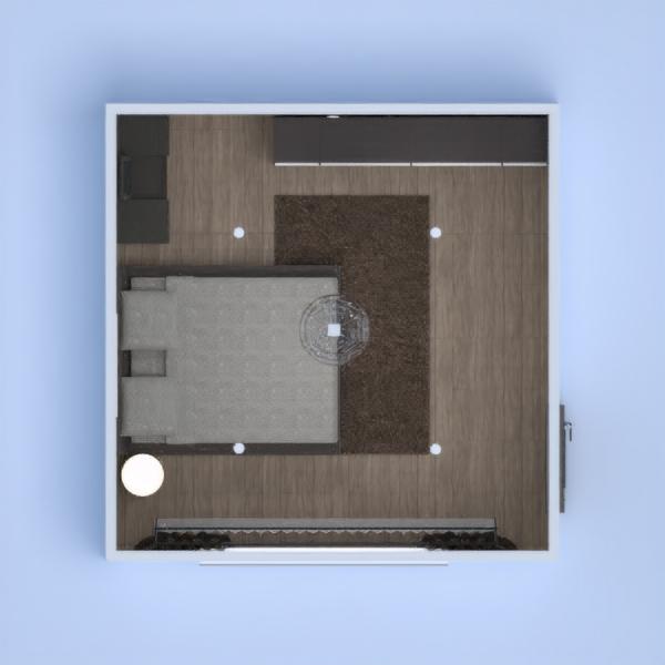 floorplans 公寓 diy 卧室 客厅 3d