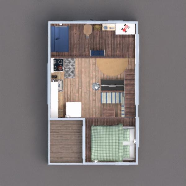 floorplans 独栋别墅 家具 装饰 diy 3d