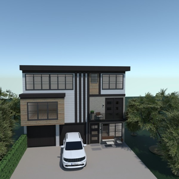 floorplans maison paysage architecture 3d