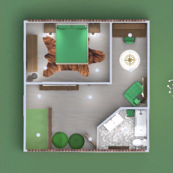 планировки дом гостиная кухня офис освещение 3d