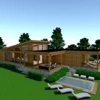 floorplans house terrace furniture bathroom bedroom living room kitchen architecture 3d