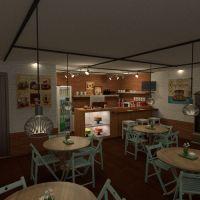 planos terraza muebles decoración bricolaje exterior iluminación paisaje hogar cafetería arquitectura descansillo 3d