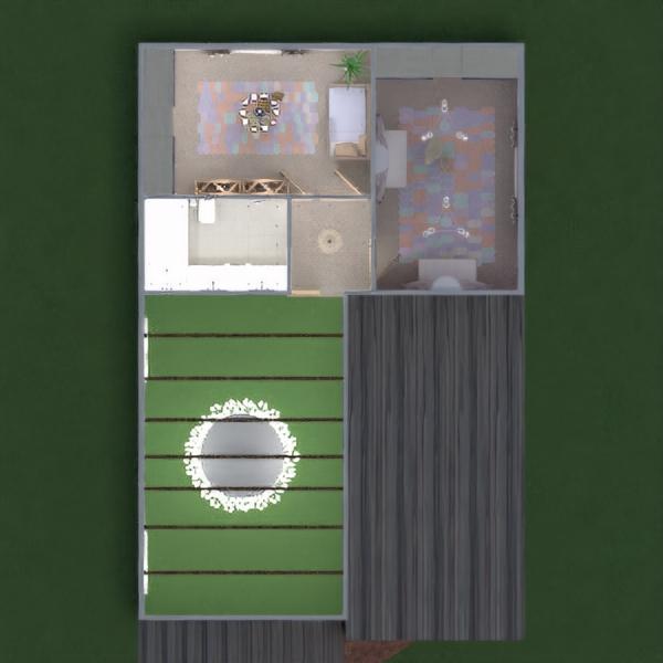 планировки дом гостиная освещение архитектура 3d