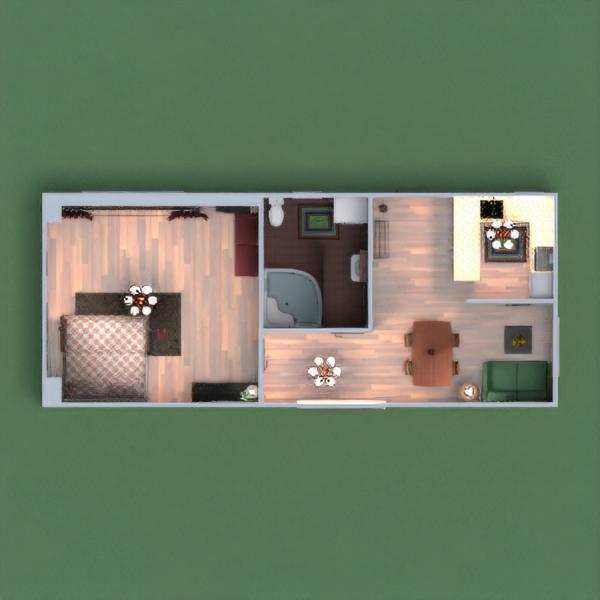 planos apartamento casa paisaje arquitectura 3d