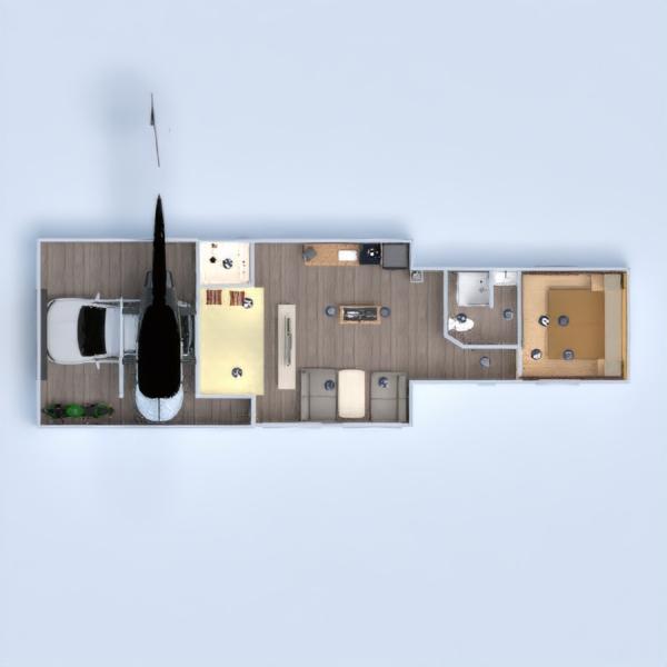 floorplans butas garažas 3d