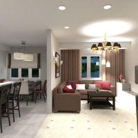 floorplans mieszkanie dom meble wystrój wnętrz pokój dzienny kuchnia oświetlenie remont jadalnia przechowywanie mieszkanie typu studio 3d