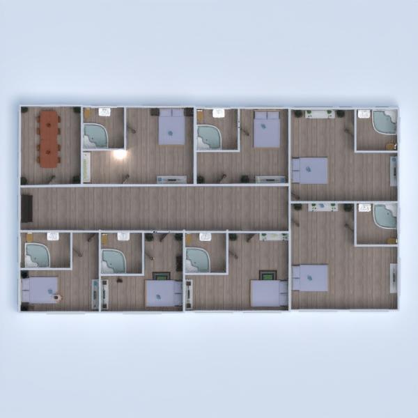 floorplans namas baldai vonia miegamasis garažas 3d