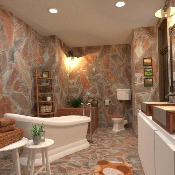 планировки декор ванная освещение 3d