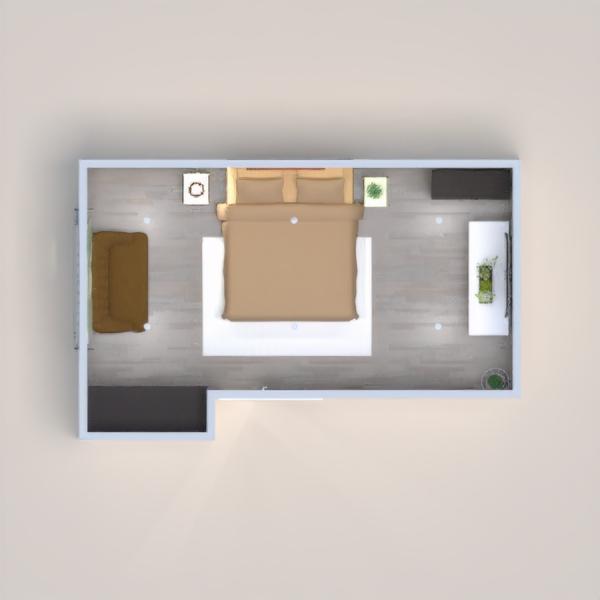 progetti appartamento casa arredamento decorazioni camera da letto 3d