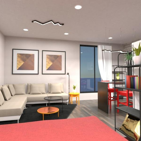 planos decoración cuarto de baño salón cocina estudio 3d