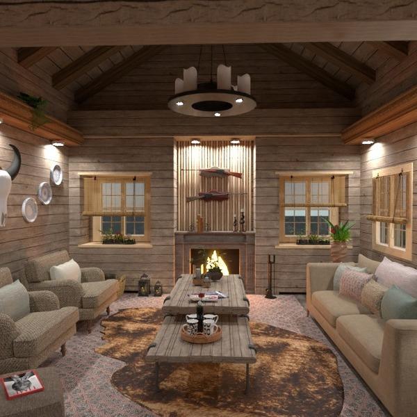 floorplans house furniture decor living room kitchen 3d