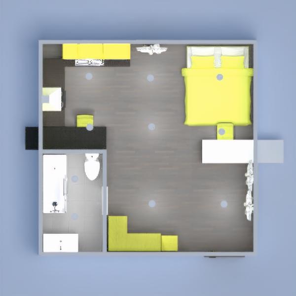 планировки декор ванная спальня столовая студия 3d