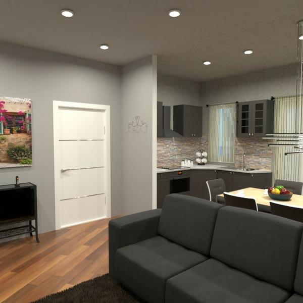 планировки квартира кухня освещение ремонт архитектура 3d