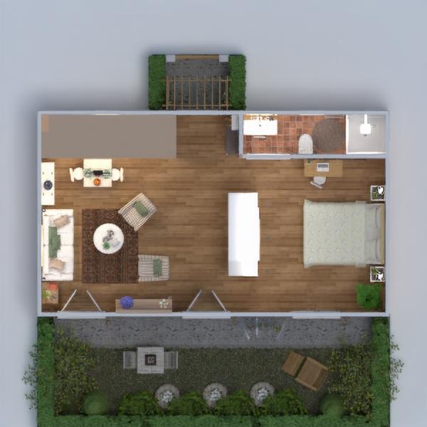 floorplans 公寓 diy 卧室 客厅 厨房 3d