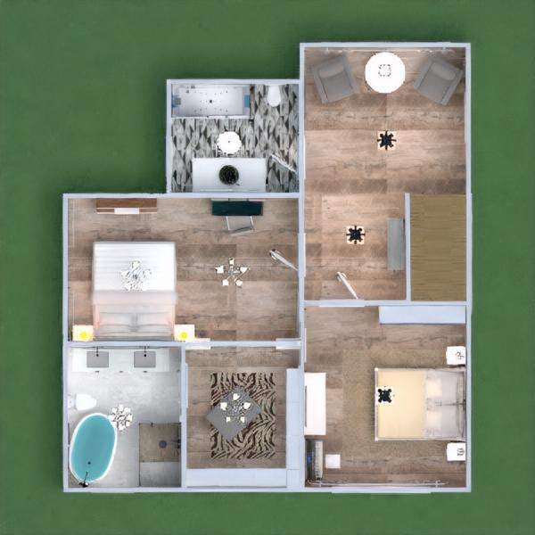 floorplans haus terrasse mobiliar dekor do-it-yourself küche beleuchtung esszimmer architektur lagerraum, abstellraum 3d