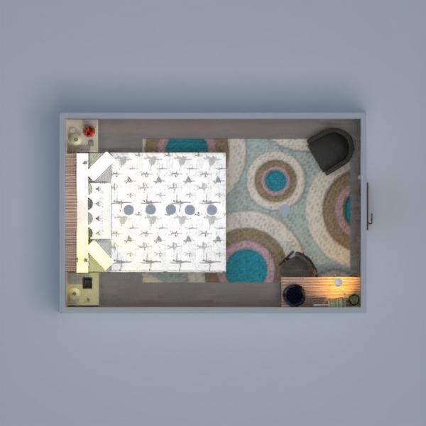 планировки мебель спальня детская освещение студия 3d