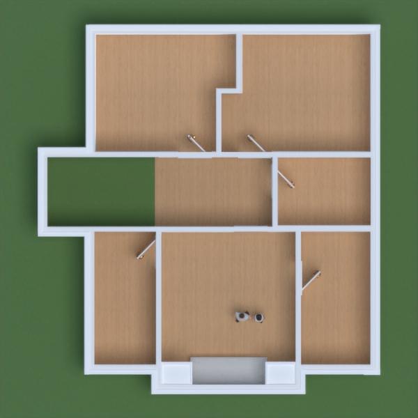 floorplans namas svetainė garažas virtuvė 3d