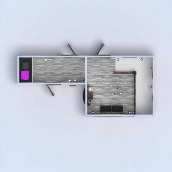 floorplans haus mobiliar beleuchtung renovierung architektur lagerraum, abstellraum eingang 3d