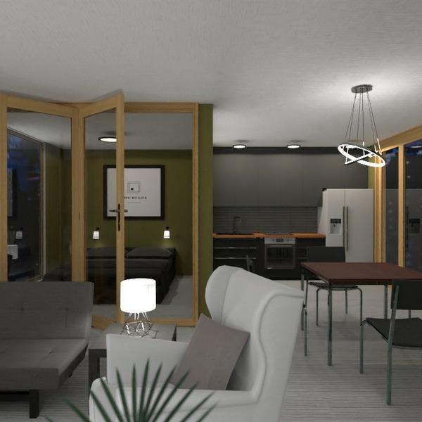 floorplans butas baldai dekoras apšvietimas studija 3d