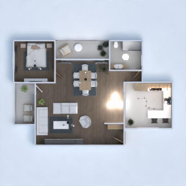floorplans house dining room 3d