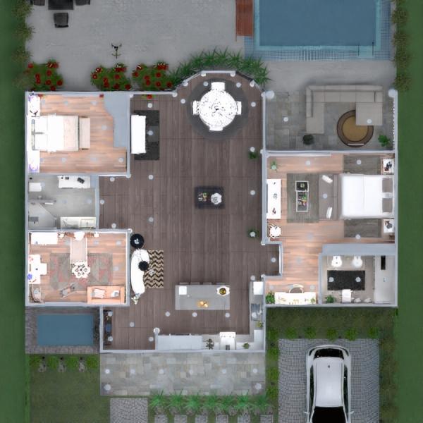 планировки квартира мебель кухня студия 3d