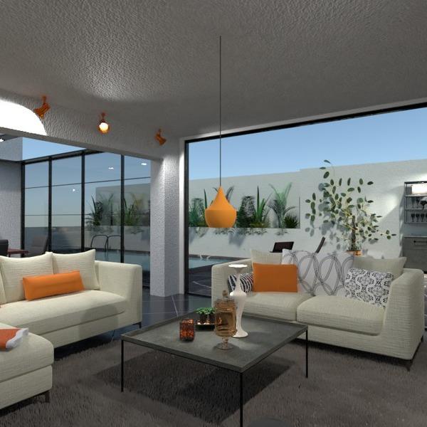 планировки квартира терраса гостиная кухня улица 3d